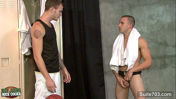 Hot jocks taking their nice cocks