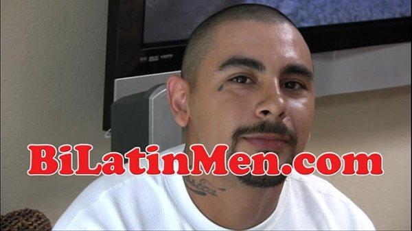 Latino Cholo Stroking His Chorizo 4 min