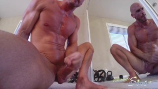 SinsLife – Porn Stud Johnny Sins Jerks Off While Working Out